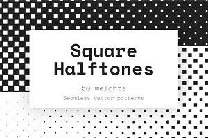 50 Square Halftones