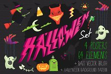 Halloween Icons and Posters