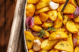 Rustic Fried Potato