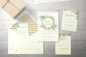 Wedding Invitation Suite - Agatha