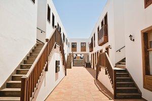 Beautiful courtyard architecture