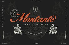 Montante Script (illustration pack)