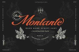 Montante Script (illustration pack)
