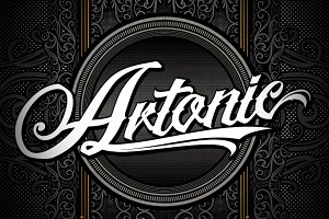 Artonic typeface +Bonus Pack