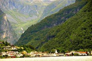 Sognefjord fjord