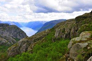 prektestolen or pulpit in Norway
