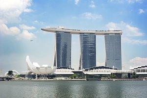 Singapore Marina Bay Sands resort