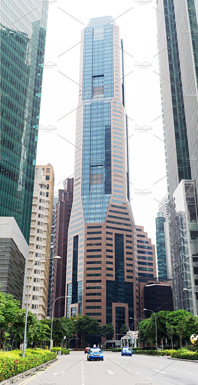 Urban scene. Singapore - Architecture