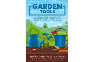 Gardening tools and work equipment