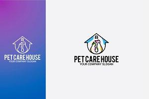 PET CARE HOUSE LOGO