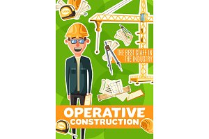 Construction engineer, architector