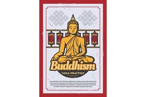Buddhism religion, Buddha statue