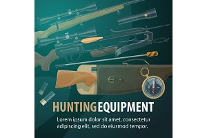Hunting weapon and ammunition