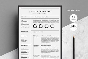Resume/CV-Alexis Hansen