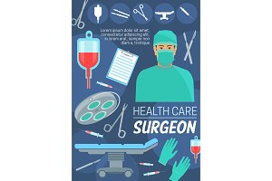 Health care and surgeon doctor