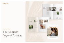 NOMADE // Proposal Template by  in Brochures