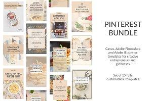 15 DIY Canva Pinterest Templates