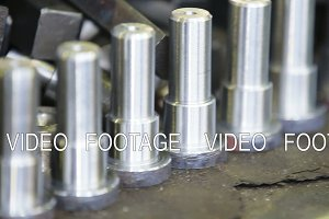 Iron details for milling machine