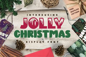 Jolly Christmas Font