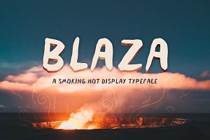 Blaza Display Font