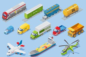 Logistic Transportation Set