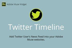 Twitter Timeline Adobe Muse Widget