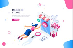 Fashion Store Template for Website