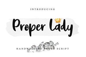 Proper Lady