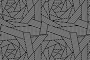 Striped black and white pattern