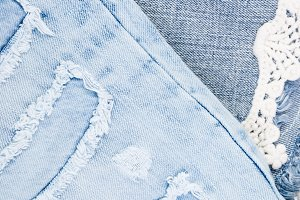 Jean background. Denim blue jean tex