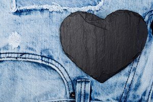 Denim. Jeans texture background. Val