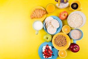Healthy Breakfast. Various Assortmen