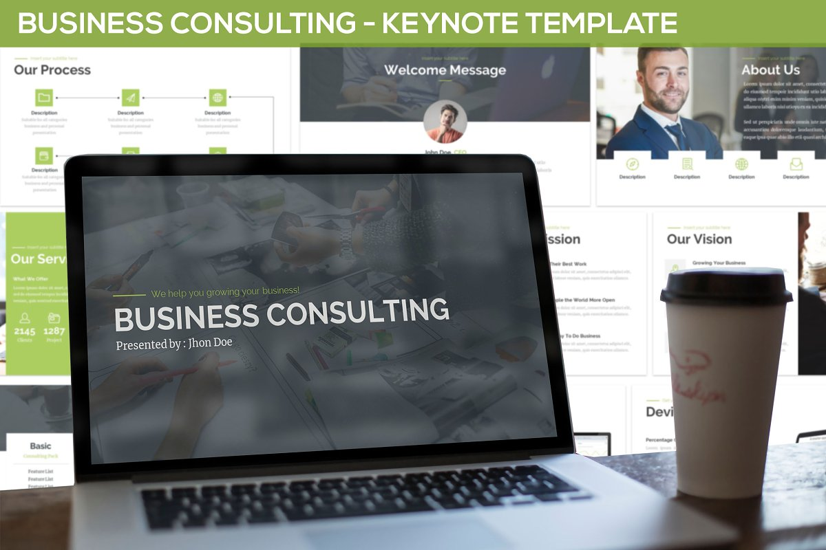 Business Consulting - Keynote
