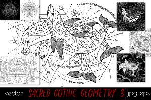 Sacred Geometry 3. Dolphins