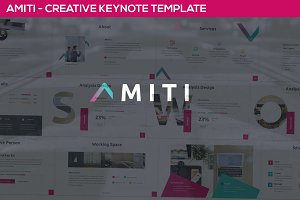 Amiti - Creative Keynote Template