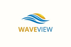Wave View Logo
