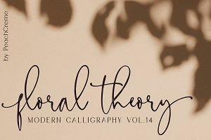 Floral Theory // CALLIGRAPHY Vol.14