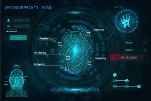 Fingerprint Scanning Identification