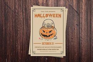 Halloween Flyer - V863