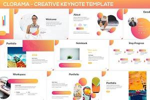 Clorama - Creative Keynote Template