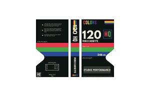 Video cassette cover