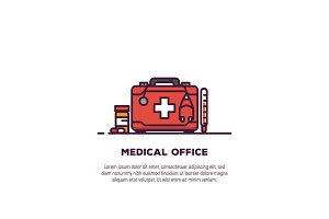Medical case banner