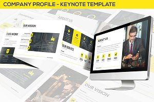 Company Profile - Keynote Template