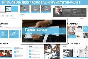 Simply Business Proposal - Keynote