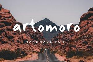 Artomoro Handmade Font