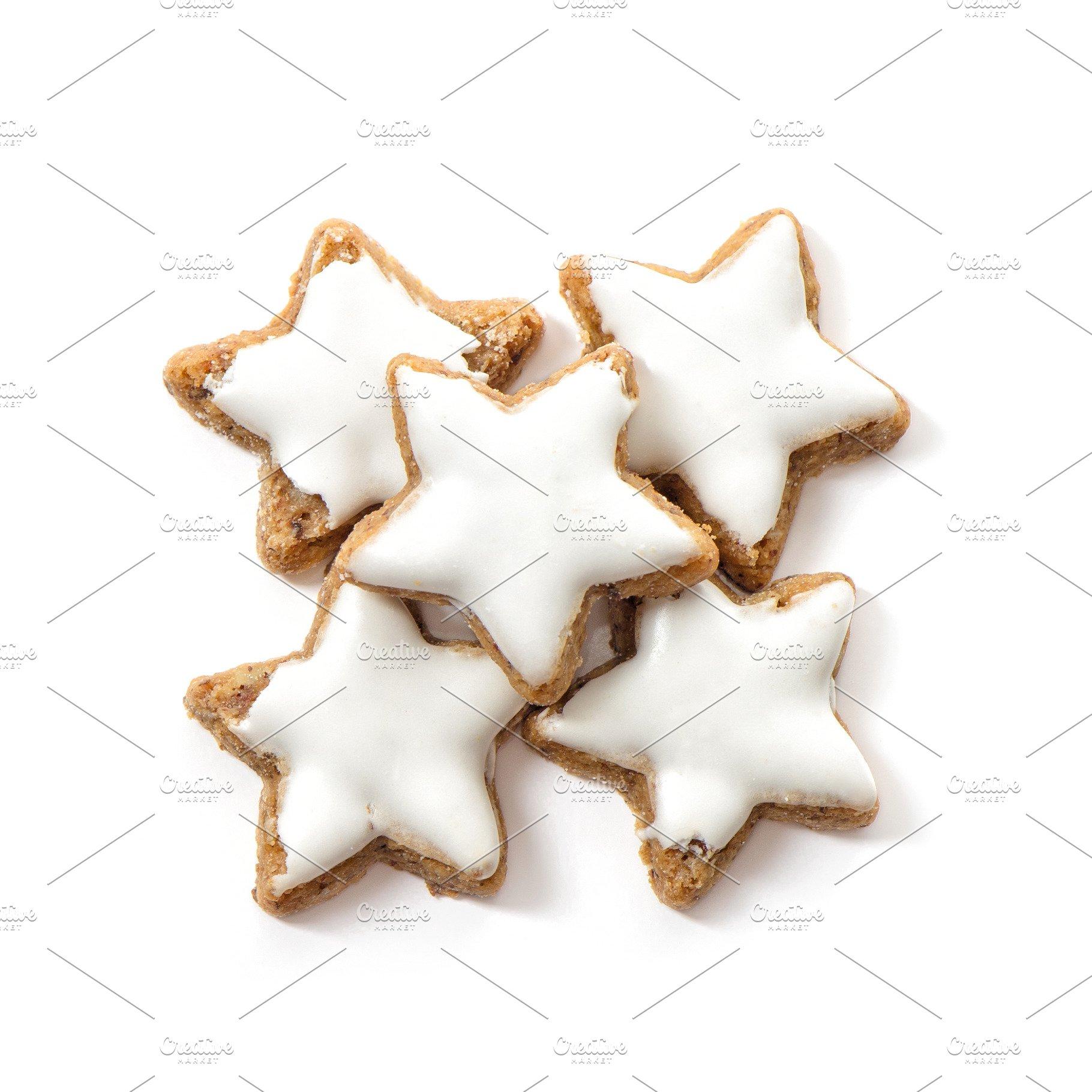 Christmas Cinnamon Star Cookies Whit