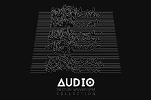 18 Audio Waveforms