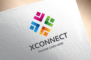 Letter X - Xconnect Logo