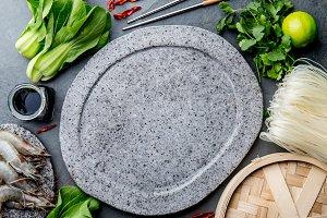 Asian cooking ingredients: rice