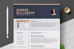 Resume Template | CV + Cover Letter